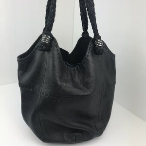 The Sak Leather Hobo Bucket Purse